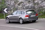 BMW 320d Efficient Dynamics Edition Touring Kombi Heck Ansicht 2.0 Vierzylinder Turbo Diesel CO2 Emission