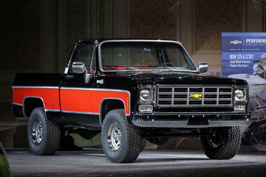 Chevrolet Performance 4x4 Pickup Concept: Das Beste aus zwei Zeiten ...