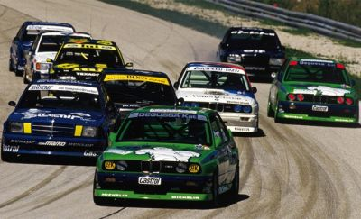 Auto Racing  Pens on Bmw Alpina   Return To Racing   1988  Dtm Alpentrophy Salzburgring