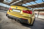 3DDesign BMW M4 Carbonfiber Dynamics Tuning Bodykit Aerodynamik Kit Carbon Sportwagen 3.0 TwinPower Turbo Reihensechszylinder Heck