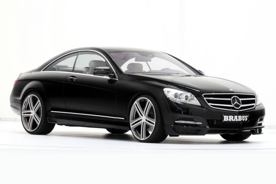 brabus mercedes cl 500 4matic luxus coup mit muskeln aus. Black Bedroom Furniture Sets. Home Design Ideas