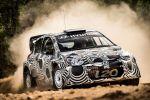 Hyundai i20 WRC World Rally Championship Rallye Weltmeisterschaft Rennwagen Test Front
