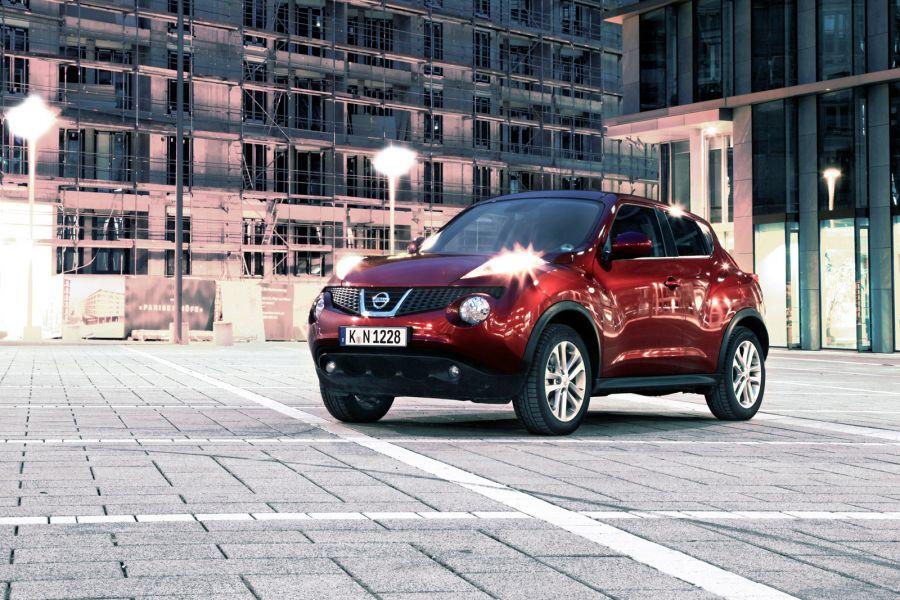 Nissan juke test eher cross als over seite 2 speed heads for Nissan juke licht