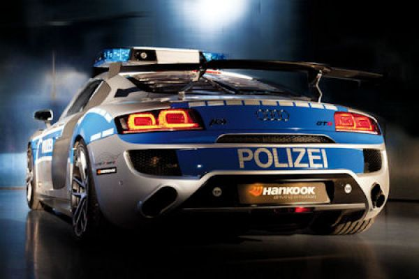 Abt Sportsline Audi R Gtr Polizeiauto V Cr Superlight Foliatec Hankook Ventus S Evo Tun X