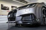 Abt Sportsline Audi TT 2.0 TFSI quattro 8S Sportwagen Vierzylinder Turbo Tuning FR Bodykit Effektfolierung Gunmetal Tuning Leistungssteigerung Front