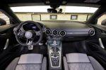 Abt Sportsline Audi TT 2.0 TFSI quattro 8S Sportwagen Vierzylinder Turbo Tuning FR Bodykit Effektfolierung Gunmetal Tuning Leistungssteigerung Interieur Innenraum Cockpit