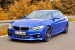 AC Schnitzer BMW 4er Gran Coupe 435i 428i 420i 420d 430d 435d Reihensechszylinder Vierzylinder Aerodynamik Tuning Leistungssteigerung Fahrwerk Front Seite