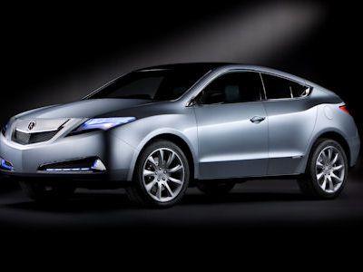 Acura  on Acura Zdx  Das Sportliches Suv Coup   Als Konkurrenz Zum Bmw X6