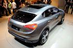 Maserati Kubang SUV Sports Utility Vehicle Performance Luxus Heck Seite Ansicht