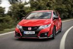 honda civic type r gt 2015 test kompaktsportler street racer sportversion 2.0 i-vtec turbo hot hatch +r modus honda connect internet smartphone apps probefahrt fahrbericht review front