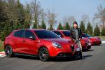 Alfa Romeo Giulietta Quadrifoglio Verde Launch Edition QV 1750 Kleeblatt Kompaktsportler TCT Doppelkupplungsgetriebe DNA Uconnect Smartphone Front Seite