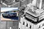 Ford Mustang Cabrio 2014 Empire State Building Aufzug Aussichtsplattform Muscle Car Pony Car Sportwagen 5.0 V8 2.3 EcoBoost Vierzylinder Turbo Selectable Drive Mode