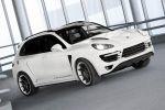 TopCar Porsche Cayenne Vantage GTR 2 Turbo 958 4.8 V8 Biturbo SUV Offroader Front Seite Ansicht