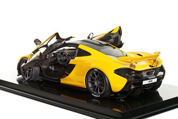 mclaren p1: ein modellauto für 10.000 euro - speed heads