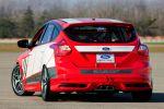 Ford Focus Race Car Concept ST Touren Rennwagen Heck Ansicht 2.0 EcoBoost SCTi Turbo Vierzylinder
