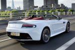 Aston Martin V12 Vantage Roadster 6.0 V12 Sport Track DSC ABS EBD EBA Heck Seite Ansicht