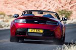 Aston Martin V12 Vantage S Roadster 6.0 V12 Sportshift Sportwagen Cabrio Heck