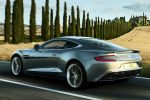 Aston Martin Vanquish 6.0 V12 Super Grand Tourer GT Aero Duc DIM Driver Information Modul DSC EBD EBA Heck Seite Ansicht