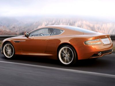 Aston Martin Virage 6.0 V12 Bridge of Weir