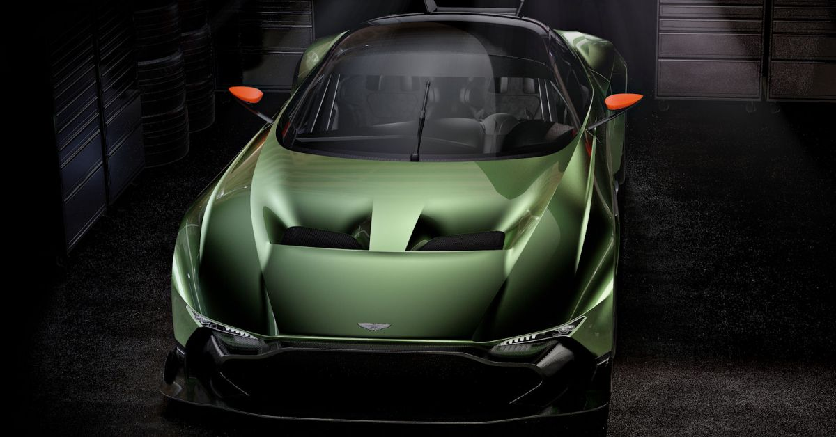 aston martin vulcan 24 supersportwagen ohne. Black Bedroom Furniture Sets. Home Design Ideas