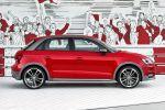 Audi A1 Sportback Active Kit Frontspoiler Heckschürze Radlaufblenden Seitenschweller Kleinwagen TFSI TDI Seite