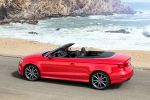 Audi A3 Cabrio 2016 1.0 2.0 TFSI 1.6 2.0 TDI Turbo Comfort Auto Dynamic Cylinder on Demand COD quattro Allrad Individual Efficiency S tronic Virtual Cockipt digitale Instrumente MMI Navigation plus MMI Touch Audi Connect WLAN Internet Smartphone App ACC Adaptive Cruise Control Active Lane Assist Spurhalteassistent Pre Sense Front Emergency Assist Querverkehrassistent Heck Seite