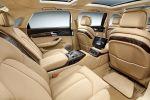 Audi A8 L Extended Langversion Stretch-Limousine 3.0 V6 quattro Allrad Tiptronic Valcona XXL Luxus Limousine Interieur Innenraum Fond Rücksitze