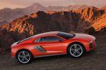 Audi Nanuk quattro Concept Allrad Crossover Sportwagen Gelände Offroad Autobahn Matrix LED 5.0 V10 TDI Biturbo Performance Adaptive Air Suspension Integrallenkung Seite