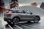 Audi Q2 Edition #1 SUV S line Exterieurpaket Quantumgrau Frontantrieb Allrad TFSI Benziner TDI Diesel Heck Seite