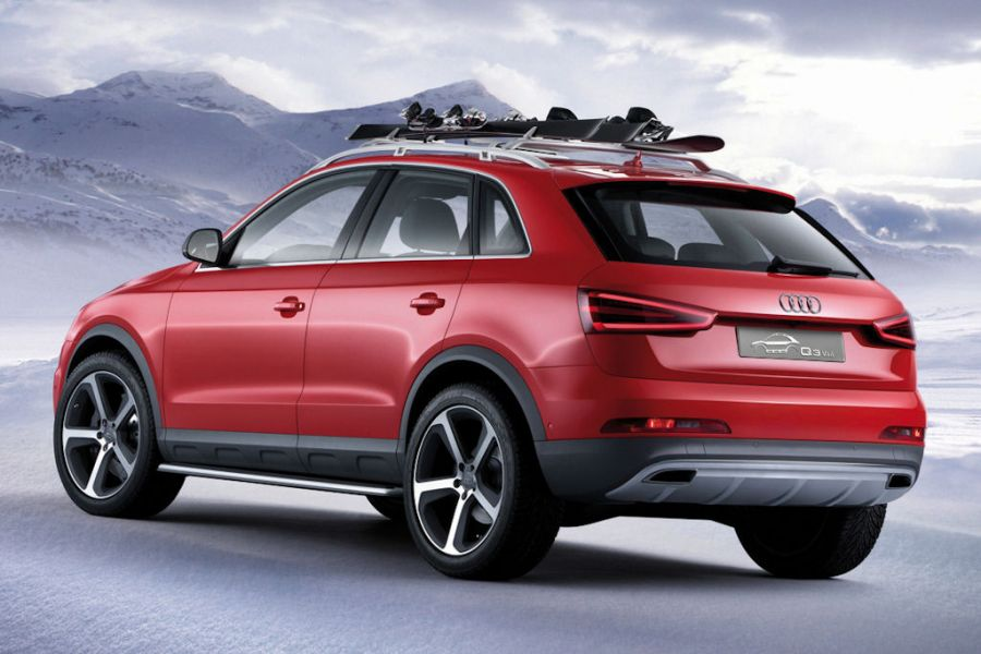audi q3 vail wintersport auf vier r dern speed heads. Black Bedroom Furniture Sets. Home Design Ideas