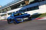 audi r8 5.2 v10 plus s tronic test - supersportwagen fahrbericht coupe leichtbau carbon front seite