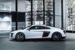 Audi R8 Coupe V10 plus Selection 24h Saugmotor Laserlicht S-tronic quattro Allradantrieb Audi Magnetic Ride Performance Virtual Cockpit virtuelles Cockpit Supersportwagen 24 Stunden Rennen Carbon Seite
