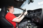 audi rs5 tdi concept test fahrbericht probefahrt 3.0 v6 biturbo diesel e-turbolader elektrische aufladung tiptronic boost 48 volt netz performance review interieur innenraum cockpit christian brinkmann