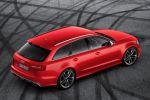 Audi RS6 Avant 2013 Kombi 4.0 TFSI V8 Biturbo Adaptive Cylinder on Demand COD Air Suspension DRC MMI Touch Navigation Plus FIS WLAN Internet ACC Adaptive Cruise Control Active Lane Assist Pre Sense Drive Select Heck Seite Ansicht