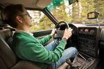 audi sport quattro test - allrad der kurze fahrbericht probefahrt fünfzylinder turbomotor sportwagen rallye straßenversion gruppe b 1983 interieur innenraum cockpit christian brinkmann