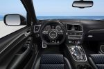 Audi SQ5 TDI plus quattro Allrad Kompakt Performance SUV Biturbo Diesel Audi Exclusive Selection Arablau Interieur Innenraum Cockpit
