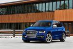 Audi SQ5 TFSI quattro Allrad Kompakt Performance SUV Tiptronic MMI Side Assist Active Lane Assist Drive Select Front Seite Ansicht