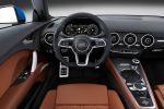 Audi TT 2015 2.0 TFSI Sportwagen Vierzylinder Turbo Matrix LED Scheinwerfer Virtuelles Virtual Cockpit TFT Monitor Infotainment MMI Navigation plus Multi Media Bang Olufsen Soundsystem Symphoria Interieur Innenraum