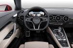 Audi TT Sportback Concept 2.0 TFSI quattro Allrad Sportwagen Limousine Fünftürer Viertürer Vierzylinder Turbo Laserlicht Virtuelles Virtual Cockpit TFT Monitor Infotainment MMI Touch Multi Media Interface Interieur Innenraum Cockpit