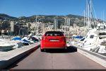 Audi RS3 Sportback Test - Heck Ansicht hinten Monaco Yacht Hafen