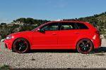 Audi RS3 Sportback Test - Seite Ansicht seitlich