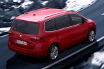 Seat Alhambra 2.0 TDI CR Allrad Van Multi Purpose Vehicle MPV Arrow Design Ecomotive Reference Style SCR Selective Catalytic Reduction Heck Seite Ansicht