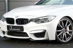 B&B BMW M4 Cabrio F83 Tuning Leistungssteigerung Sportwagen 3.0 TwinPower Turbo Reihensechszylinder Tieferlegung Gewindefahrwerk Front Seite Rad Felge