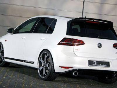 B&B VW Volkswagen Golf GTI Clubsport 2.0 TSI Turbo Kompaktsportler Tuning Leistungssteigerung Felgen Sportfedern Gewindesportfahrwerk Bremsen Bremsanlage Sportabgasanlage