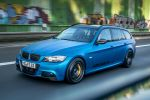 BBM Motorsport BMW 350d 3T Touring Kombi E91 3er Tri-Turbo Chiptuning Leistungssteigerung Z-Performance ZP10 Stoptech ST60 ST40 Performance Front Seite