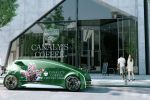 Toyota Fun Vii Concept Vehicle Interactive Internet Smartphone AR Augmented Reality Elektromotor Elektroauto Display Seite Ansicht
