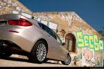 BMW 535i GT (Gran Tourismo) Test - Heck Seite Ansicht hinten seitlich Heckleuchte Rücklicht Scheinwerfer hinten Felge vorne hinten