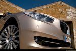 BMW 535i GT (Gran Tourismo) Test - Front Ansicht Nebelscheinwerfer Frontscheinwerfer Felge vorne