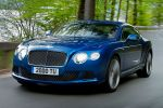 Bentley Continental GT Speed 6.0 W12 Twinturbo Mulliner Driving Paket Front Seite Ansicht
