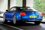 Bentley Continental GT Speed 6.0 W12 Twinturbo Mulliner Driving Paket Heck Seite Ansicht